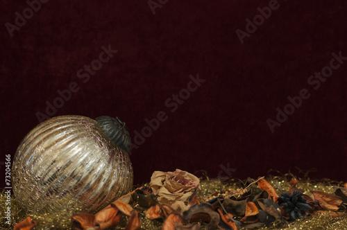 canvas print picture Hintergrund, Weihnachtsdekoration