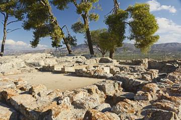 Kreta, Ruinenstadt von Festos