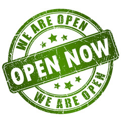 Open now stamp