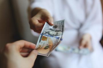 arms transfer money