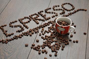 Espresso mit Tasse