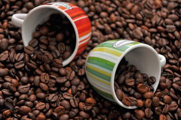 Espresso mit Tassen