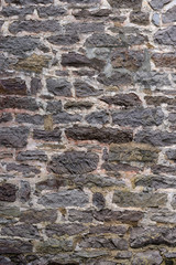 Two Hundred Year Old Stone Wall Horizontal