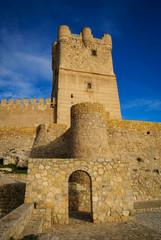 Castle at Vilena, Valencia y Murcia, Spain