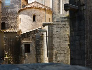 View of Girona - Sant Pere de Galligants