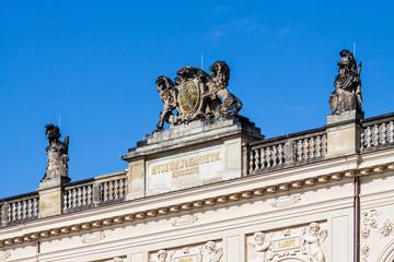 Historisches Gebäude in Dresden
