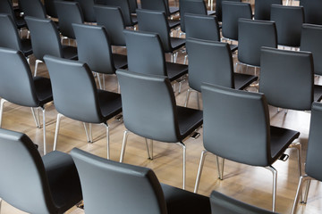 chairs in the presentations hall