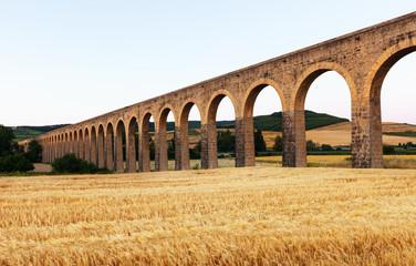 Noain aqueduct near Pamplona