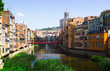 Day view of river and picturesque homes in Girona