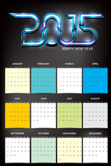 happy new year party calender