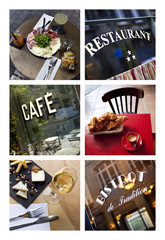 Bistro collage