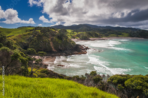 Fotobehang Nieuw Zeeland Secluded Beaches in Bay of Islands, Northland New Zealand