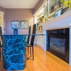 Interior design of dining room