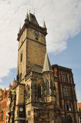 The astronomical clock in Prague