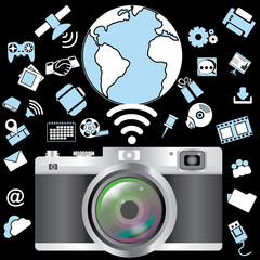 Camera and application