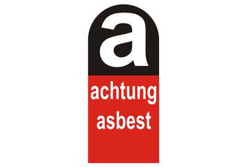 Achtung Asbest...