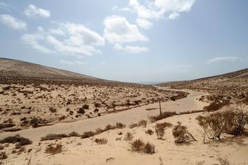 Barranco de Pecenescal, Parc Naturel de Jandía à Fuerteventura