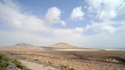 Les monts Loma Negra et El Paso à Fuerteventura
