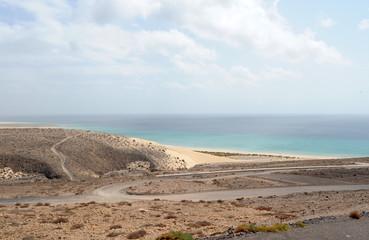 Plage d'Esquinzo à Fuerteventura