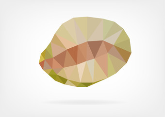Low Poly Breadfruit