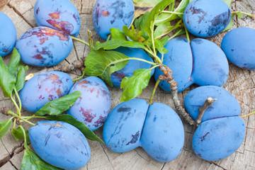 Inglorious plums