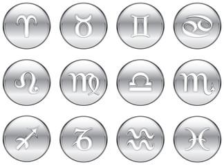 Silver Zodiac Signs
