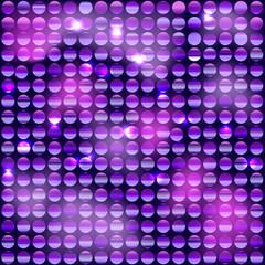 Фон из блестящих дисков с фиолетовым оттенком