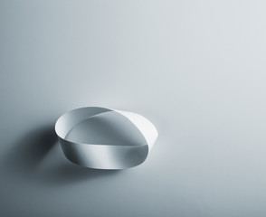 Infinity paper ring