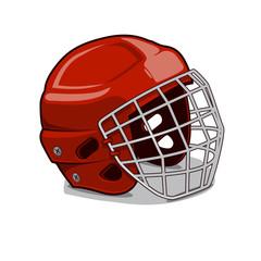 Hockey Protection Helmet.