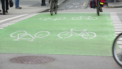 Urban Bicycle Crossing