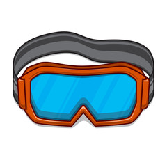 Snowboard ski goggles.