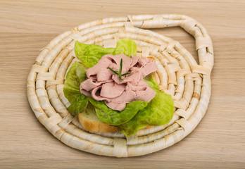 Liver sandwich