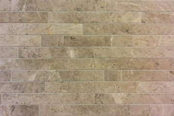 Long rectangular wall tiles
