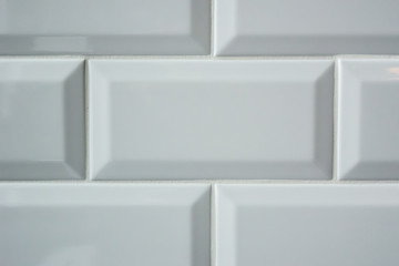 White Subway Tile Background