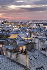 Toitures de Paris