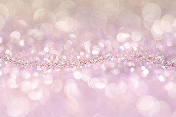 Bokeh abstract background for New Year Design