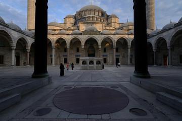 Suleymaniye Mosque, Suleymaniye Camii, Istanbul, Turkey