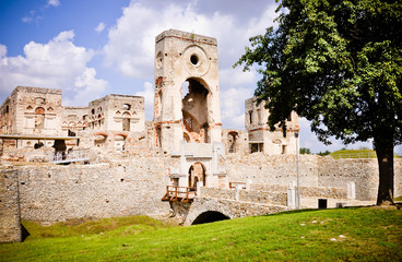 Krzyztopor - impressive castle ruins, Poland