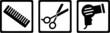 Hairdresser Icons