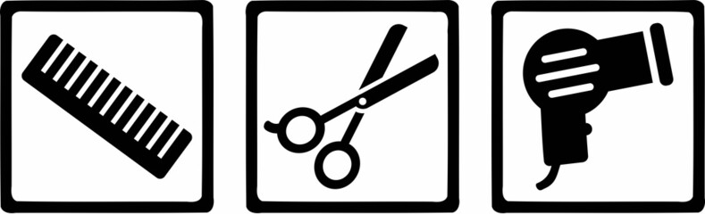 Hairdresser Icons