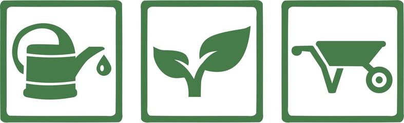 Gardening Gardener Tools Icon
