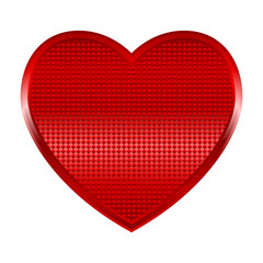 Vector illustration of a shinning heart