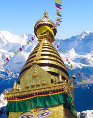 Bodhnath Stupa Himalayas