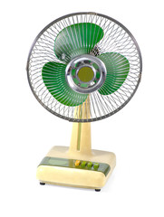 Old Electric Fan Isolate