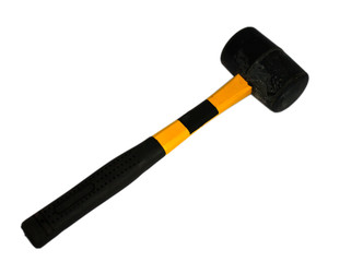 Isolated rubber mallet