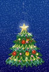 クリスマスツリー8
