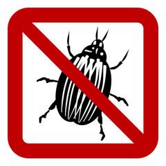 No bug sign