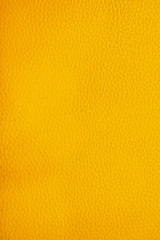 Yellow leather texture