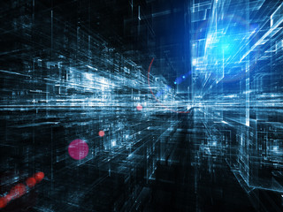 Visualization of Digital City