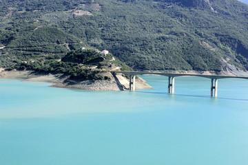 Bridge Over Lake Kremaston